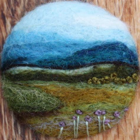 wool landscapes scene