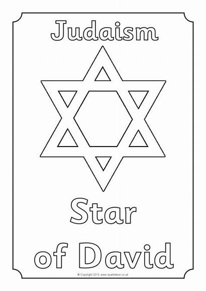 Symbols Colouring Religious Sheets