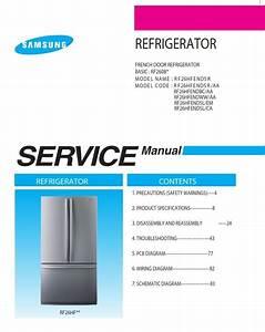 Samsung Rf26hfendbc Rf26hfendww Rf26hfendsl Rf26hfendsl
