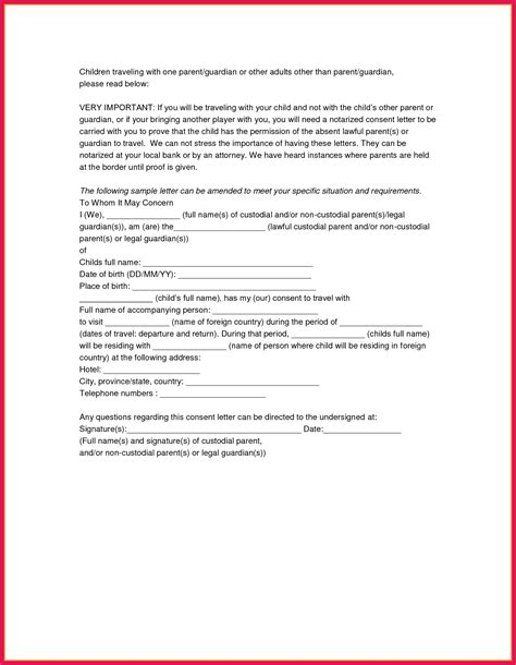 notarized letter sop examples