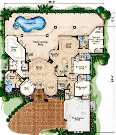 Smart Placement House Plans Mediterranean Style Homes Ideas by Mediterranean Villa Style Flooring Mediterranean Style