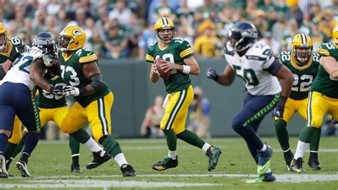 packers  seahawks time tv schedule