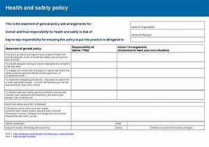 Hse Health And Safety Policy Template Risk Assessment Policy Template Hashdoc