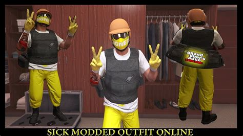 GTA 5 Sick Modded Outfit Glitch Online (PS4/PC/Xbox One) - YouTube
