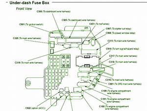 1995 Acura Legend Coupe Under Dash Fuse Box Diagram