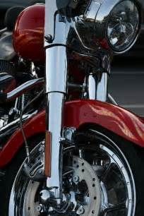 Red Harley-Davidson Motorcycles