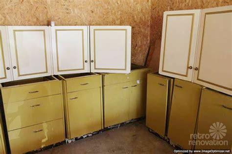 harvest gold kitchen cabinets vintage st charles