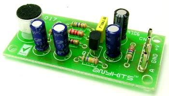 Tiny Mic Preamplifier Electronics Lab