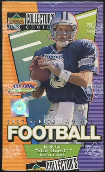 deck collectors choice 1997 1997 deck collector s choice series 2 football