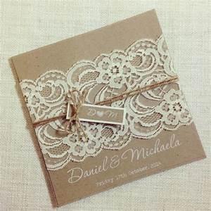 rustic wedding invitation white ink rustic vintage lace With rustic lace wedding invitations australia