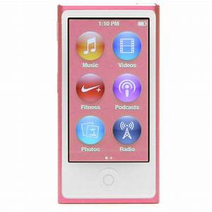 Apple iPod nano 7th Generation Pink 16 GB Latest Model ...