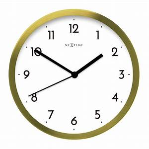 Buy Arabic Wall Clock Gold/white Online
