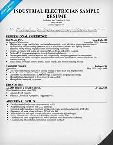 industrial electrician resume sample resume ideas With electrician resume template