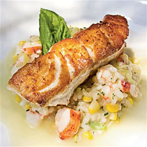 grouper recipe baked fish recipes roasted easy seafood whole risotto beurre citrus champagne blanc myrecipes frank cl edwards peter indian