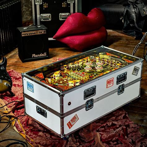 kiss pinball coffee table fancycom