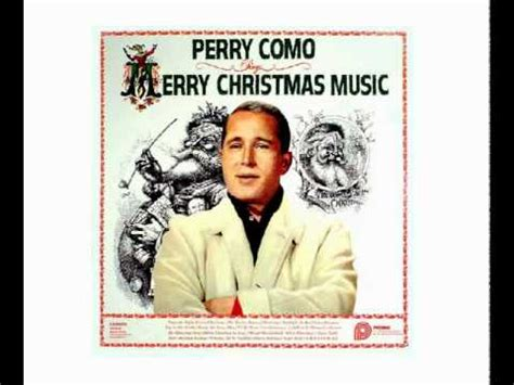perry como frosty the snowman perry como 07 frosty the snowman youtube