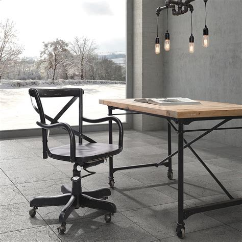 bureau vintage industriel 27 ingenious industrial home offices with modern flair