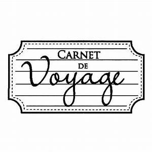 Carnet De Voyage Original : tampon bois carnet de voyage 3 5 x 6 2 cm ~ Preciouscoupons.com Idées de Décoration