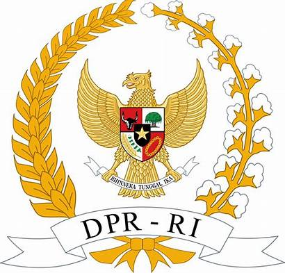 Indonesia Arms Coat Representative Council Svg Commons