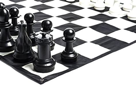 Megachess Large Chess Pieces And Large Chess Mat