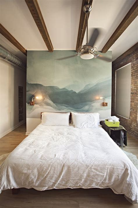 Shop by new introductions and types to find wall decor, wall art, and picture frames now available at the official uttermost website. Wall Mural   Alternative Headboard Decorating   POPSUGAR ...