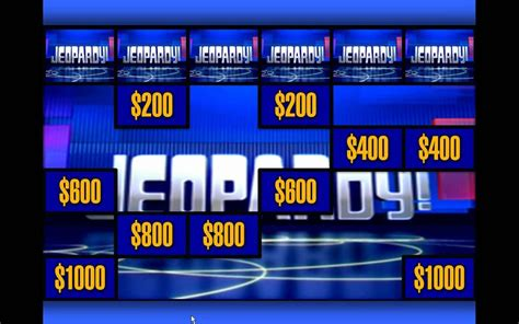 Jeopardy Powerpoint Template With Score