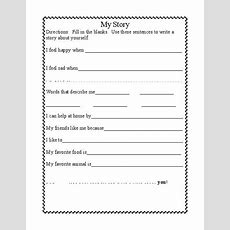 14 Best Images Of Back To School Activities Worksheets  First Day Writing Activities Middle