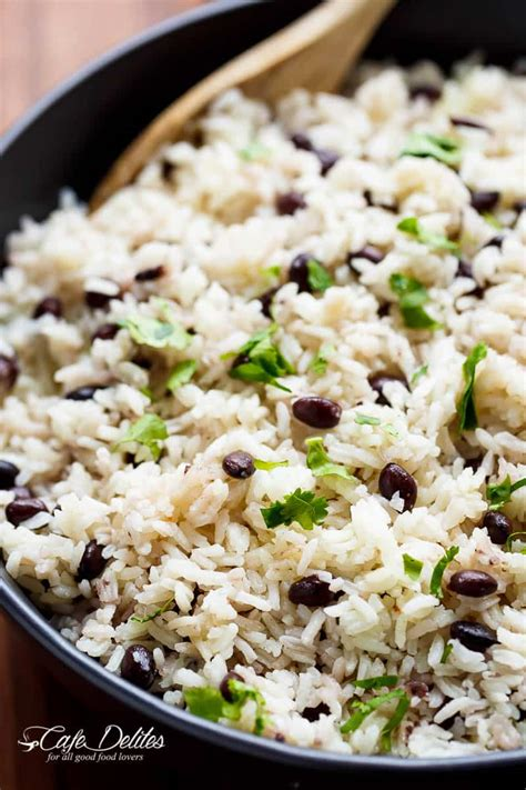 black beans rice recipe recipequicks