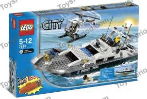 Lego City Police Boat 7899 (japan import)
