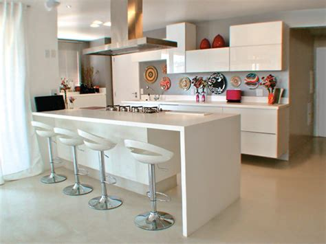 cozinhas planejadas  peninsula decorando casas