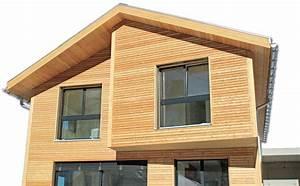 Holzfassade Welches Holz : fertighaus mit holzfassade ~ Yasmunasinghe.com Haus und Dekorationen