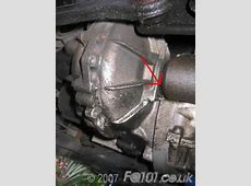 Driveshaft oil seal change