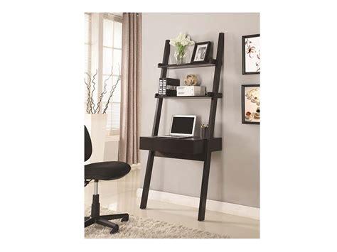 ladder desk with drawer cappuccino a storage drawer ladder desk shop for