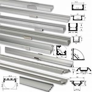 Led Leiste 2m : led alu profil 1m 2m aluprofil aluminium abdeckung f r led streifen ebay ~ Eleganceandgraceweddings.com Haus und Dekorationen