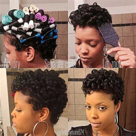 Rod Hairstyles Black Hair by 20 Curly Hairstyles For Black
