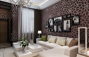 Wall paper design for living room download 3d house for Wallpaper designs for living room wall