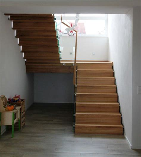 Podesttreppe Mit Wand by Bildergebnis F 252 R Treppe Mit Podest Treppe House Stairs
