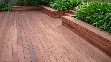 Massaranduba Decking Cape Town by The 7 Best Timbers For Decking