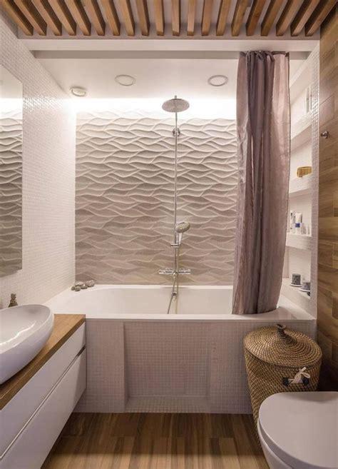 id 233 e d 233 coration salle de bain rev 234 tement mural salle de bain en panneaux 3d et lambris en bois
