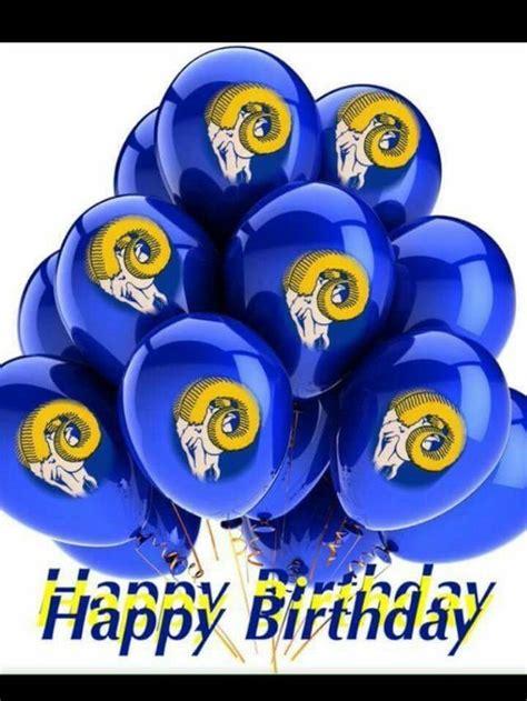 pin  lynette  birthdays rams football superbowl party