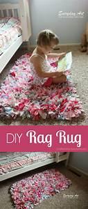 Craftaholics Anonymous® How to Make a Rag Rug tutorial