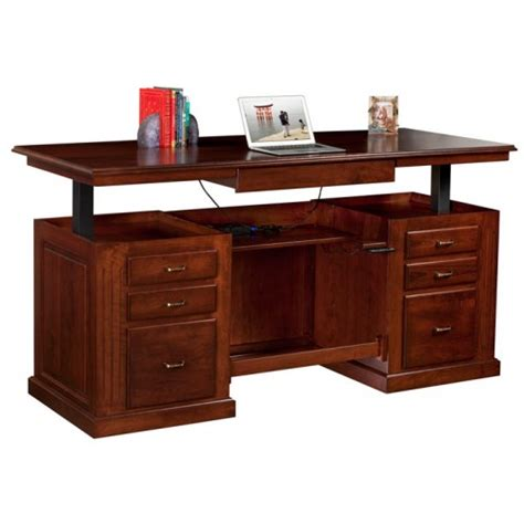 used sit stand desk for sale sit stand executive desk