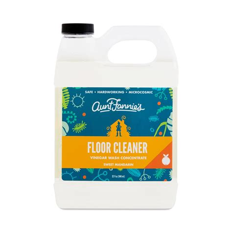 vinegar based floor cleaner aunt fannie s sweet mandarin vinegar wash floor cleaner thrive market