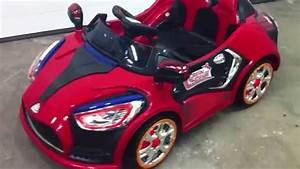 Voiture Electrique Enfant : voiture lectrique enfant mrt concept rouge ~ Nature-et-papiers.com Idées de Décoration