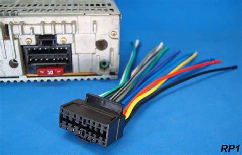 New Sony Xplod Pin Radio Wire Harness Car Audio Stereo