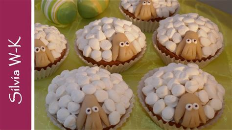 osterlaemmchen schaefchen muffins ostergebaeck youtube