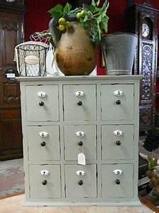 Petit Meuble A Tiroir : petit meuble style grainetier a 9 tiroirs avec numeros en porcelaine petit meuble tiroir et ~ Teatrodelosmanantiales.com Idées de Décoration