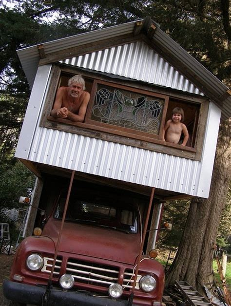 tiny truck houses  rob scott