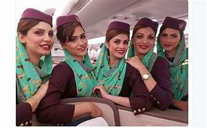 Pakistan International Airlines air hostesses all set to ...