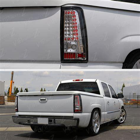 2005 silverado tail lights 2003 2004 2005 2006 chevrolet silverado chrome led brake